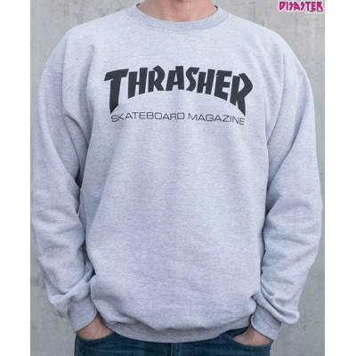 Sudadera Thrasher Skate Magazine gris