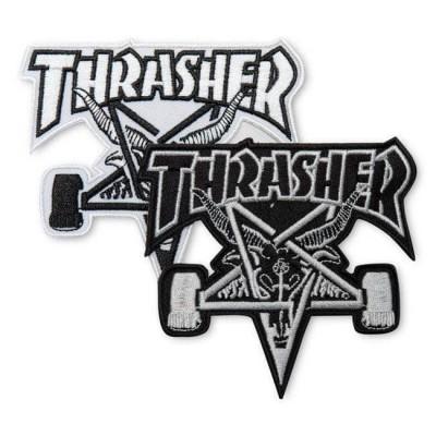 Parche Thrasher Skate Goat