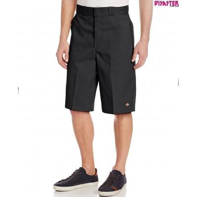 Pantalón corto Dickies 13 Flat Front Work Shorts negro