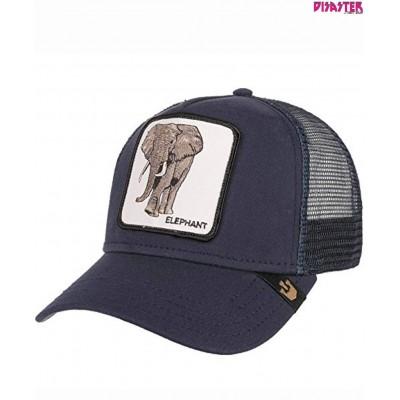 Gorras Goorin Bros Trucker Elefante Elephant azul navy