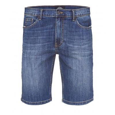 Pantalón corto vaquero slim...