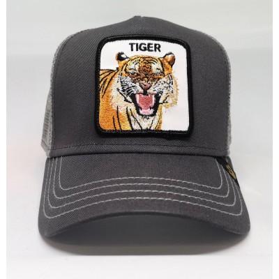Gorra Goorin Bros Tigre TIGER gris grey