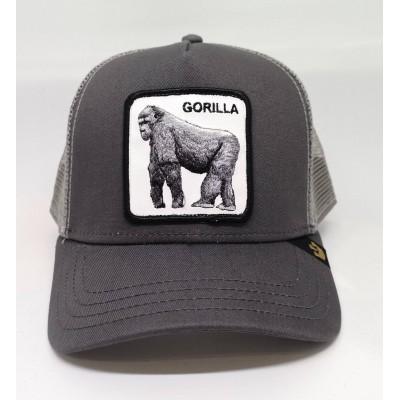 Gorra Goorin Bros Gorila GORILLA gris grey