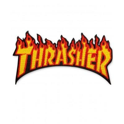 Parche Thrasher Flame Logo llamas