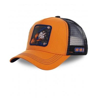 Gorra Trucker COLLABS CAPSLAB DRAGON BALL Z Goten Naranja