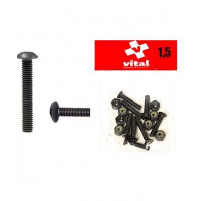 Tornillos VITAL 1.50'' pack 8