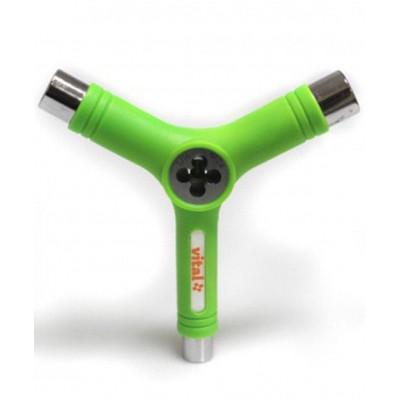 Herramienta Vital Y-Tool Multifunción Verde