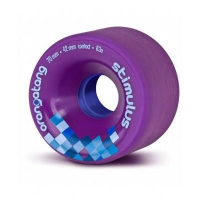 Ruedas Longboard ORANGATANG Stimulus 83A purpura