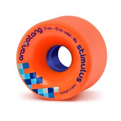 Ruedas Longboard ORANGATANG Stimulus 80A naranja