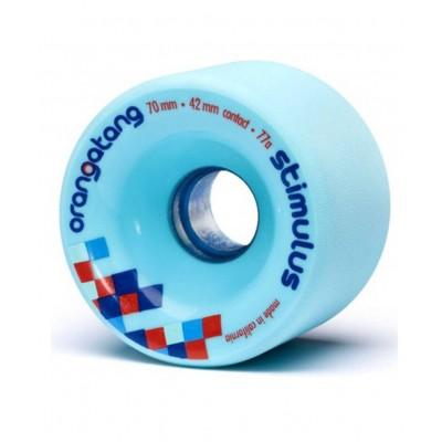 Ruedas Longboard ORANGATANG Stimulus 77A Azul