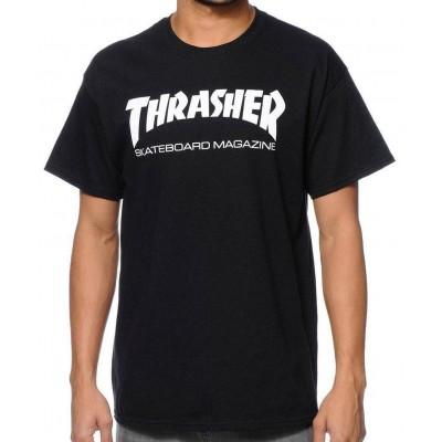Camiseta Thrasher Skate Magazine Negra