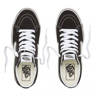 Zapatillas Vans Sk8-Hi Plataforma 2 Black-True White