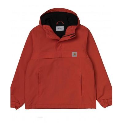 Abrigo Canguro Carhartt Nimbus Pullover Brick naranja Orange