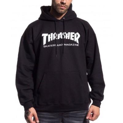 Sudadera THRASHER Hoody Skate Magazine Black