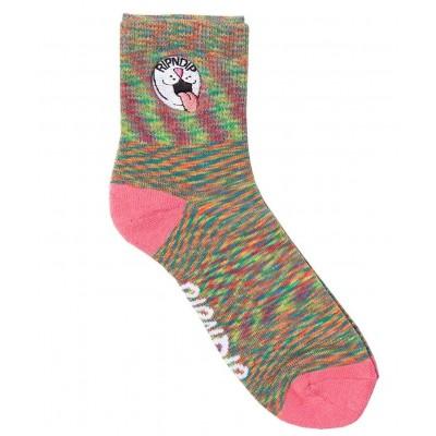 Calcetines bajos RIPNDIP Pill Ankle Socks Pastel Spiral Dye