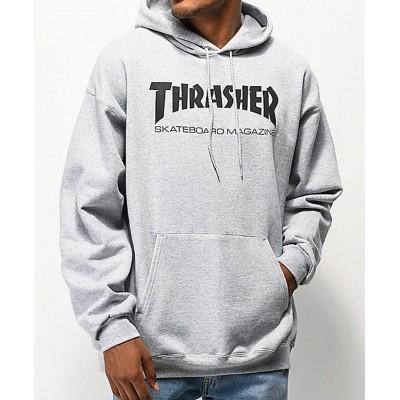 Sudadera THRASHER Hoody Skate Magazine Grey