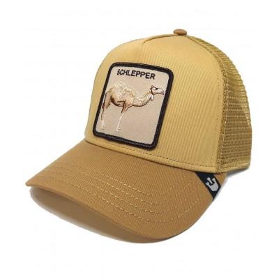 Gorra Goorin Bros Trucker Dromedario Schlepper Amarillo...