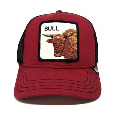 Gorra Goorin Bros Trucker Toro Bull Red