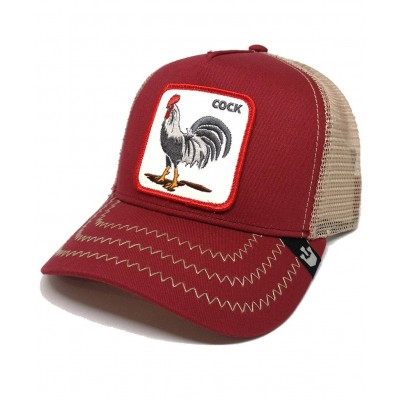 Gorra Goorin Bros Trucker Gallo Cock Red