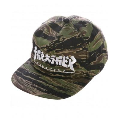 Gorra THRASHER Godzilla Snapback Tiger Camo