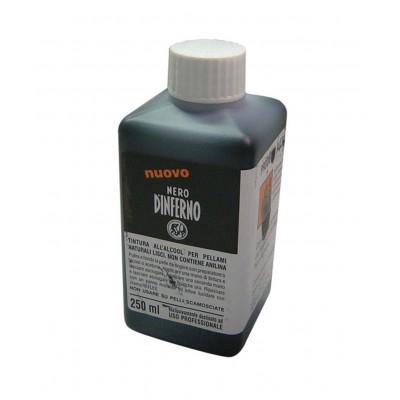 TINTA NEGRO INFERNO 250 ml.