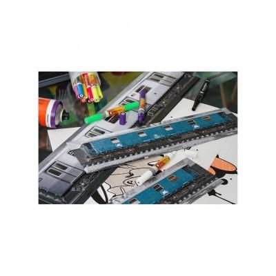 Poster en Relieve 3D MOLOTOW Tren-Pequeño