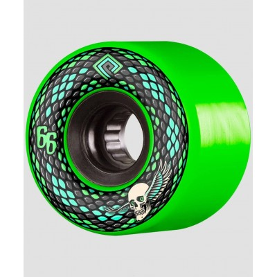 Ruedas Powell Peralta Snakes Wheels Green 75A 66mm