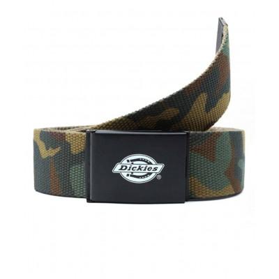 Cinturón Dickies Orcutt Webbing Belt Camouflage