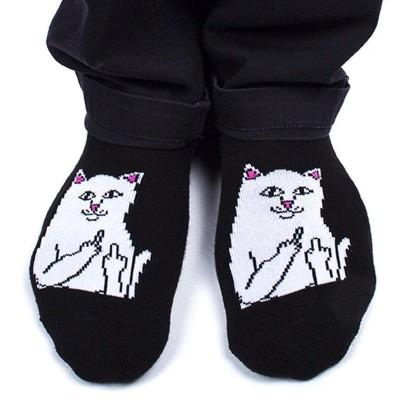 Calcetines RIPNDIP Lord Nermal Low Socks Negro Black