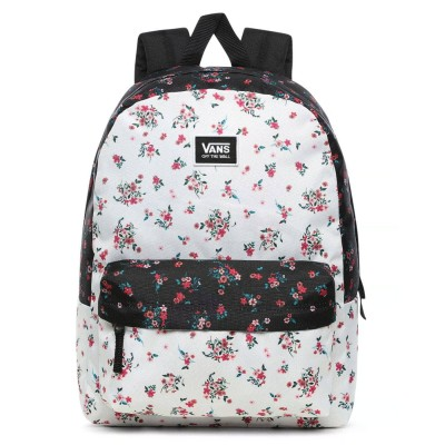 Mochila Vans Realm Classic Backpack Beauty Floral Patchwork