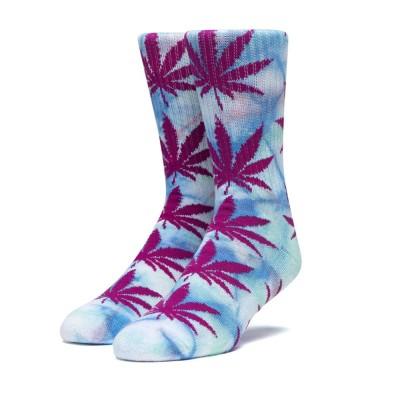 Calcetines HUF Tiedye Plantlife Sock Pale Aqua