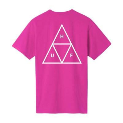 Camiseta HUF Essentials Tt S-S Tee Coral
