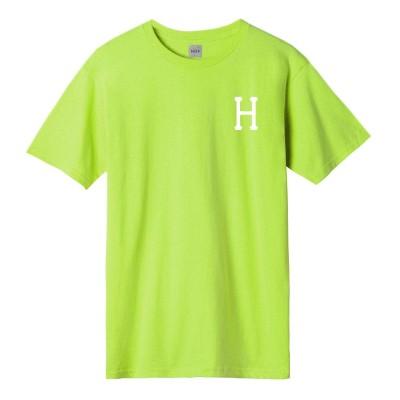 Camiseta HUF Essentials Classic H S-S Tee Bio Lime