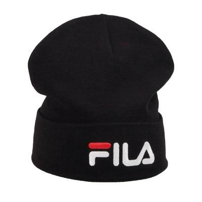 Gorro Fila Slouchy Beanie Linear Logo Black
