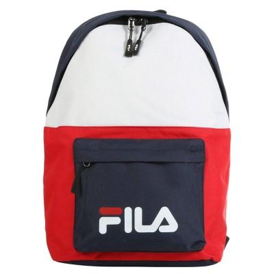 Mochila Fila New Backpack S´Cool Two Black Iris Red