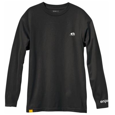 Camiseta Enjoi Panda Patch Midnight Navy Custom Dye Long...