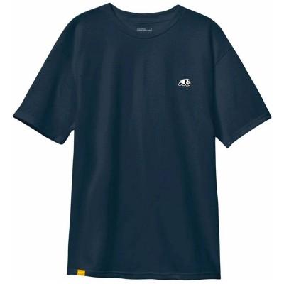 Camiseta Enjoi Panda Patch Custom Dye Midnight Navy