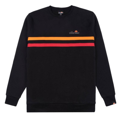 Sudadera Ellesse Erminion Crew Sweat Black