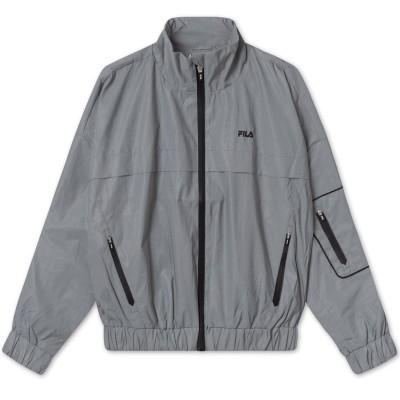 Chaqueta Reflectiva FILA Ume Wind Jacket Silver