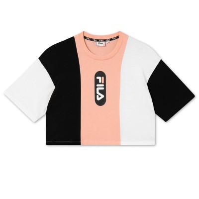 Camiseta FILA Basma Blocked Cropped Black White