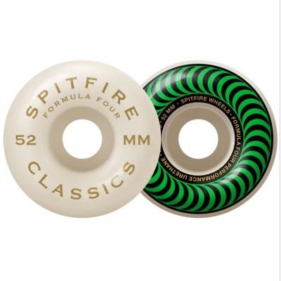 Ruedas Spitfire Formula 4 Classics 99DU Verde 52mm