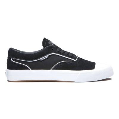 Zapatillas skate Supra Hammer Vtg Black-White-Black-Whit