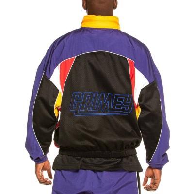 Chaqueta Grimey Ubiquity Track Jacket Blue
