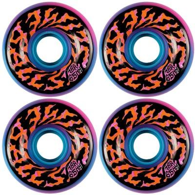 Ruedas Skate Santa Cruz Slime Balls Swirly Pink Blue 65mm...