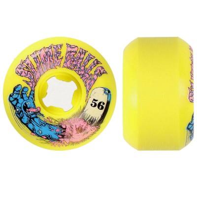 Ruedas Skate Santa Cruz Slime Balls 56mm Grave Yellow 99a