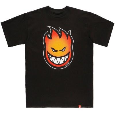 Camiseta Spitfire Bighead Fade Fill Black
