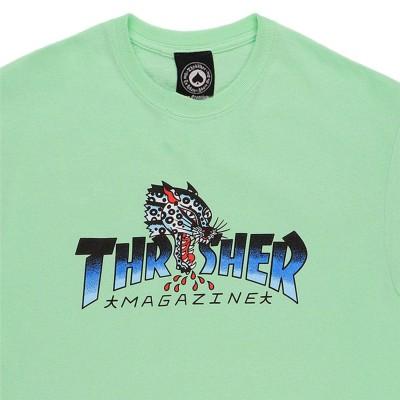 Camiseta Thrasher Leopard Mag Mint