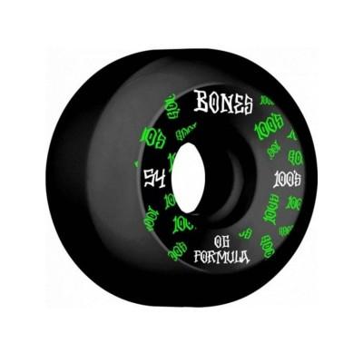 Ruedas Bones 100's 54 V5 Black