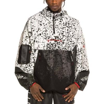 Chaqueta Cortaviento Grimey x GZUZ Raincoat Black-White