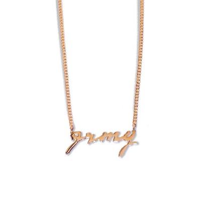 Cadena Grimey Strange Fruit Necklace Golden